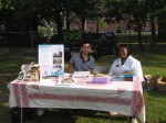 LCHP Book table at Laurel Emancipation Day Celebration