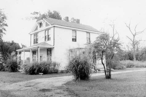 Located directly across from Lake Artemesia and the Baltimore and Ohio Railroad tracks, the Gray family home was for more than sixty years the site of many gatherings for family and friends.