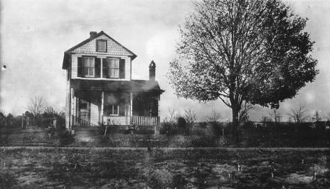 The home of Benjamin Robert Hicks and his wife, Annie L. Terry Hicks, was located on Washington Street (now Lakeland Road) next to the old Lakeland High School. In