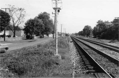 Railroad at Lakeland School