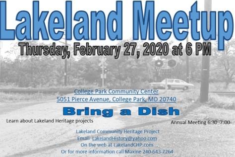 Lakeland Meetup 2020